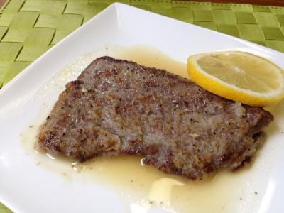 牛肉レモンソース和え